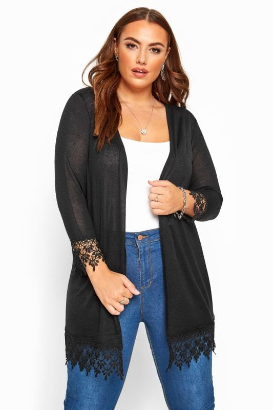 Brand New Ladies Plus Size Blue Open Cardigan 16-22