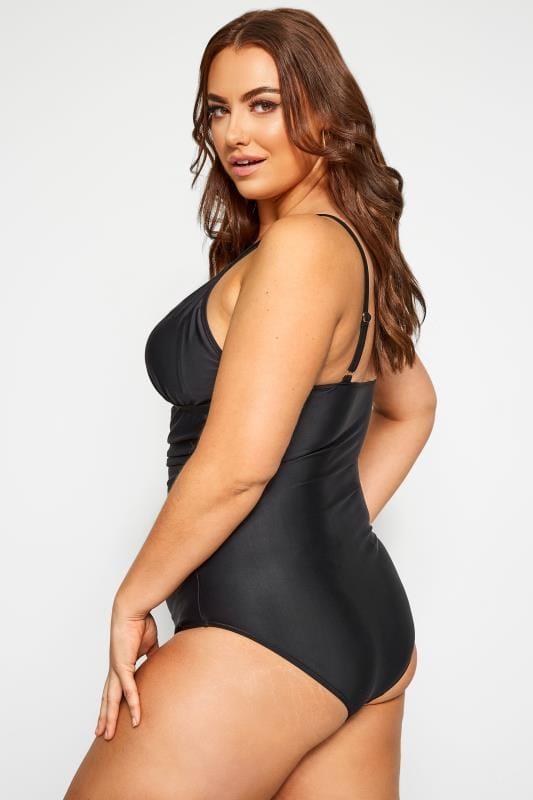 Black Lattice Swimsuit