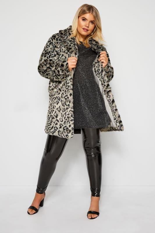 Black & Silver Metallic Knitted Jumper