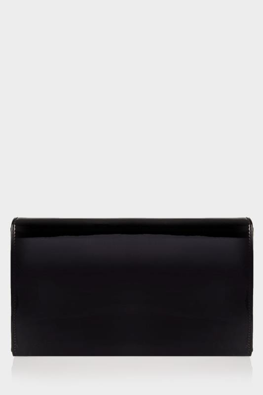Black Patent Clutch Bag With Chain Shoulder Strap_ba29.jpg