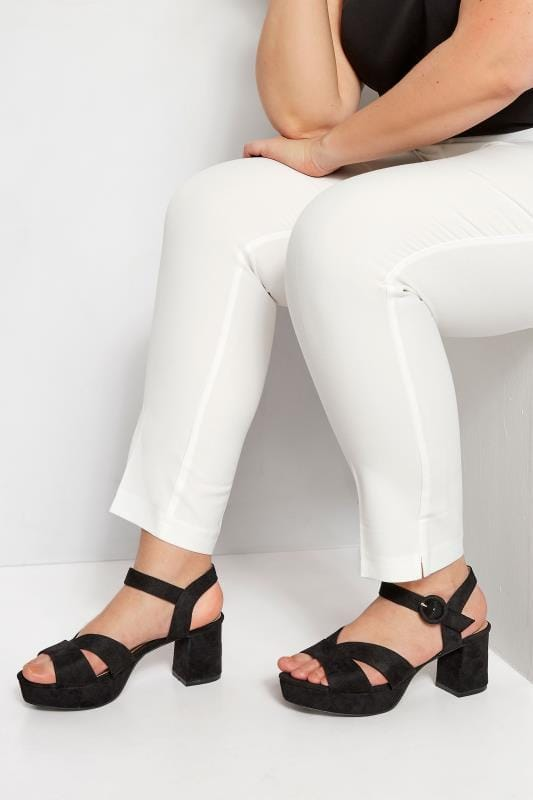 purchase genuine online sale diversified in packaging Wide Fit Sandals & Wedges | Yours Clothing