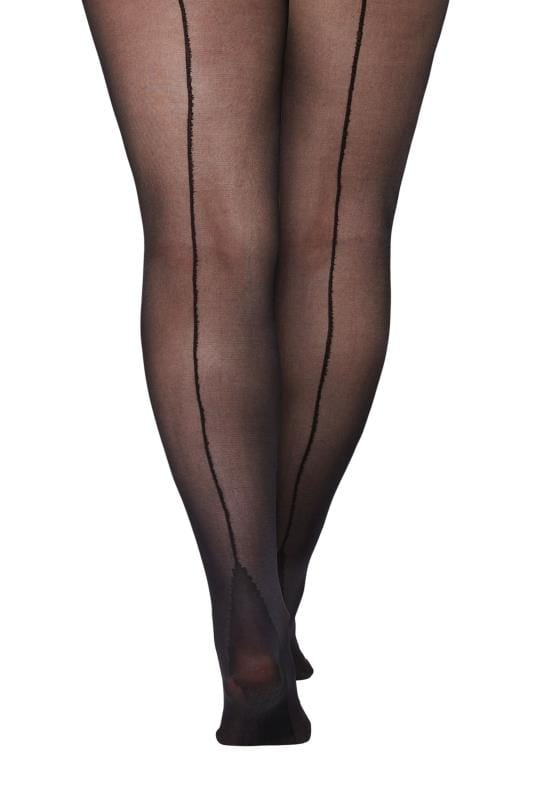 Black Seamed Tights