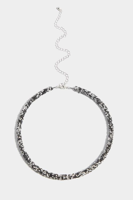 Collier - Schwarz/Silber