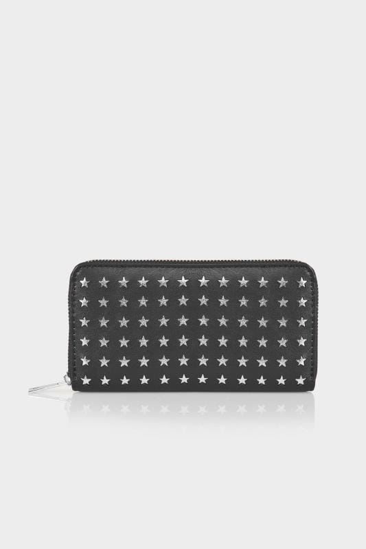 Black & Silver Star Purse