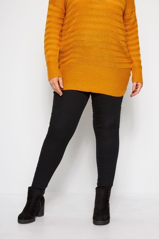 Black Skinny Stretch AVA Jeans