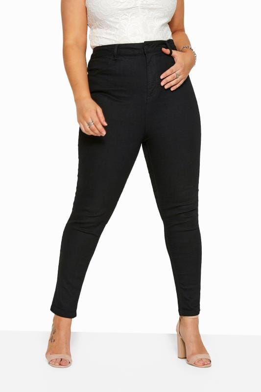 Black Skinny Stretch AVA Jeans