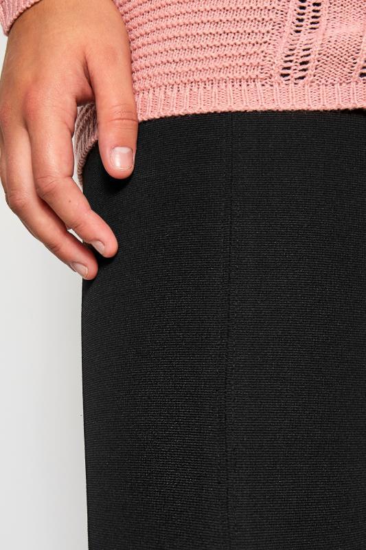 Black Slim Leg Ponte Treggings