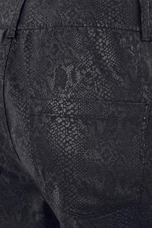 Black Snake Print JENNY Jeggings
