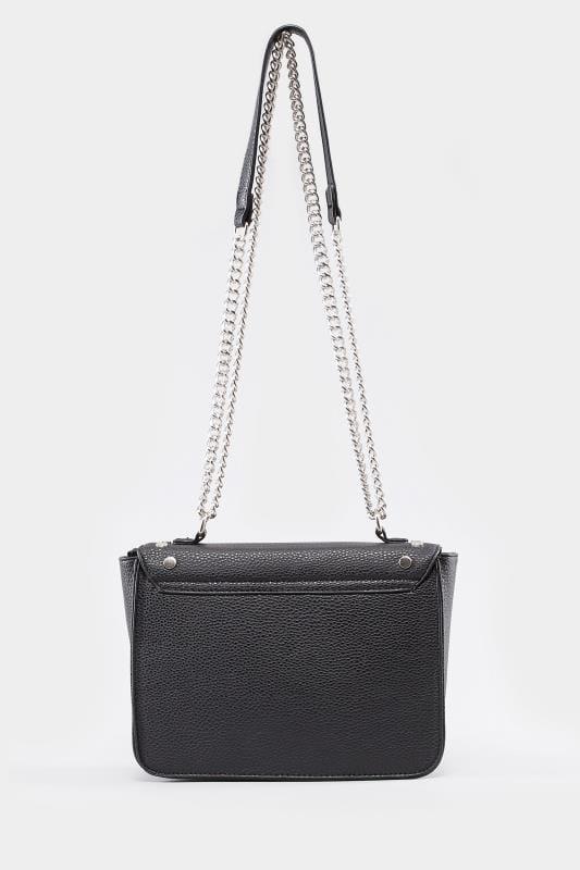 Black Studded Shoulder Bag