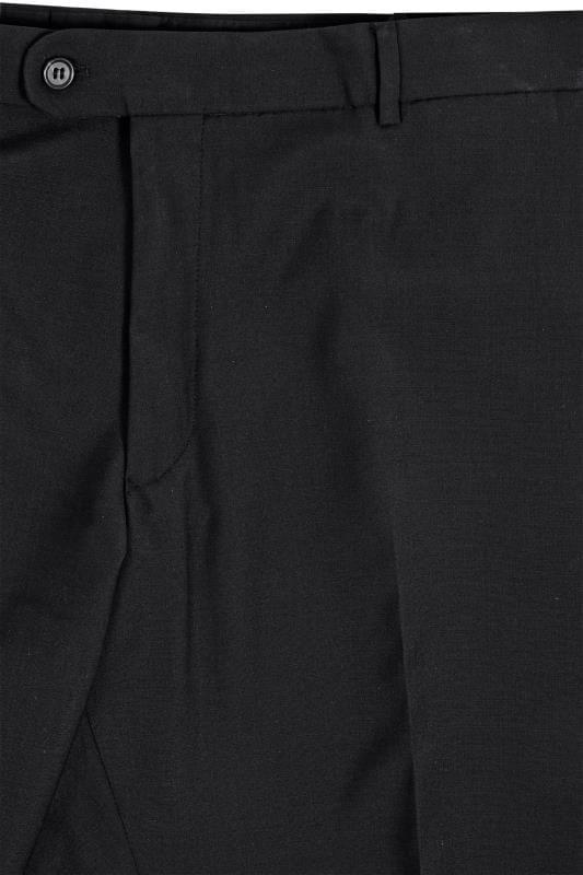 BadRhino Black Suit Trousers