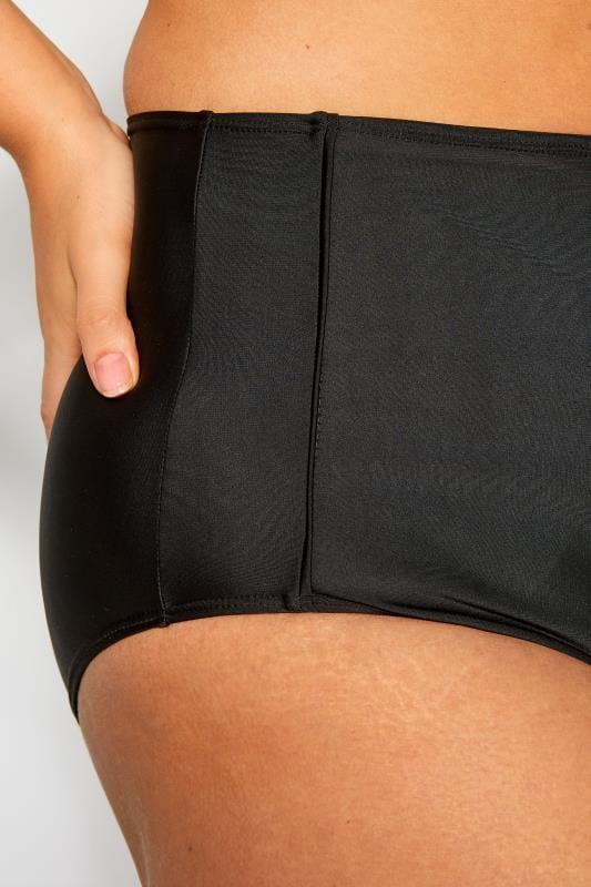 Black Super High Waisted Bikini Briefs