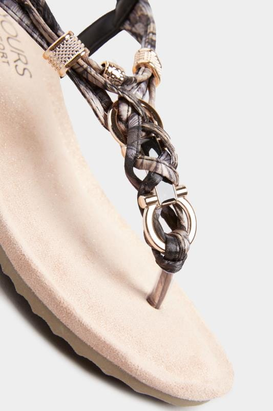 Black Twist Gold Tone Heeled Sandals In Extra Wide Fit_242c.jpg