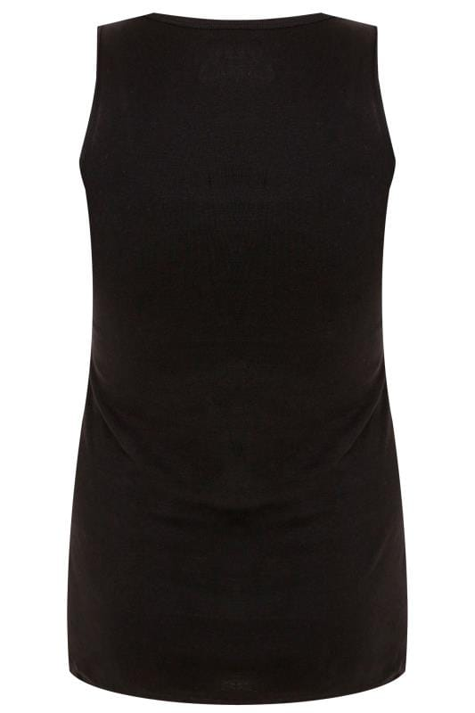 Black Vest Top