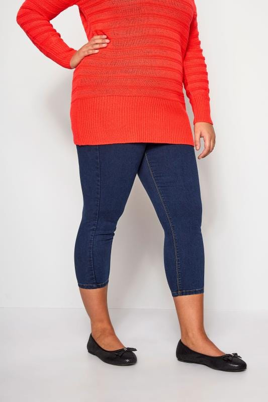Jeggings Blue Cropped JENNY Jeggings