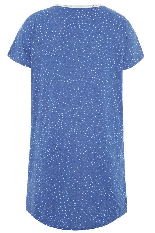 Blue Polka Dot Nightdress