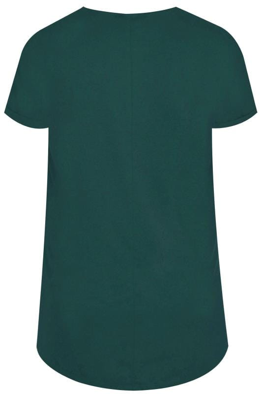 Bottle Green Pocket T-Shirt