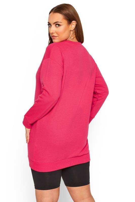 Bright Pink 'Not My Problem' Sweatshirt