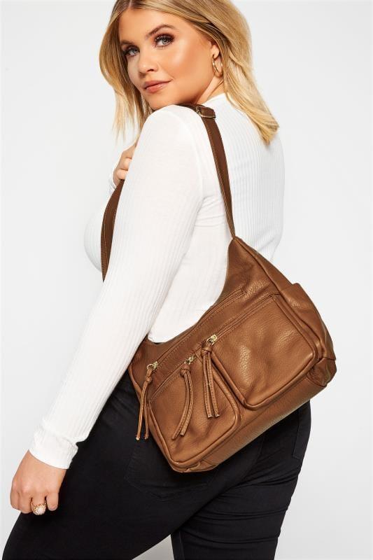 Shoulder Bags Brown Messenger Bag