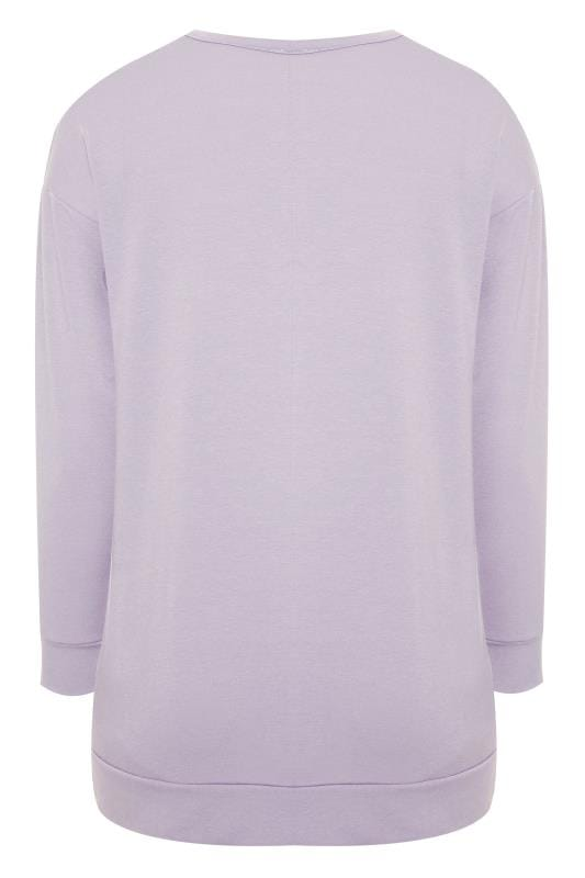 Light Purple 'Calabasas' Sweatshirt