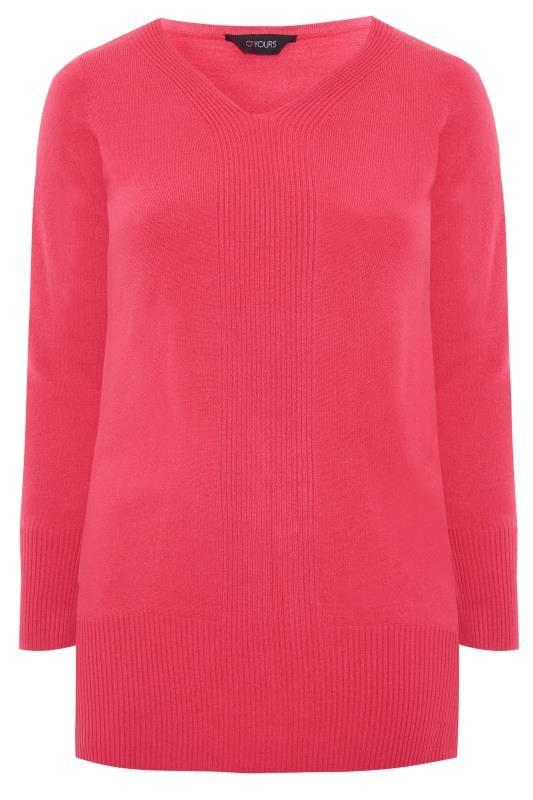 Bright Pink Cashmilon Jumper