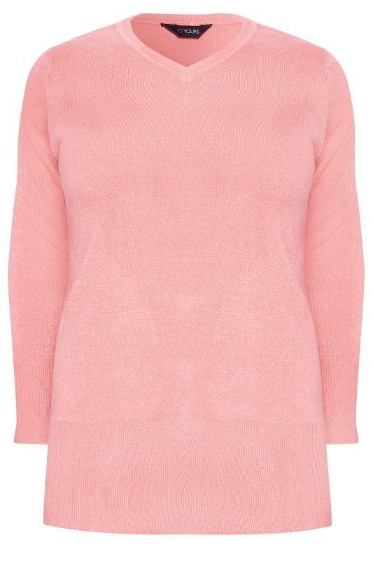 Pink Fine Knit Cashmilon Jumper