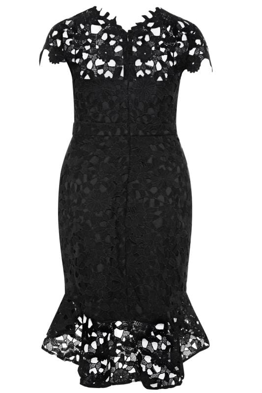 CHI CHI Black Moana Dress