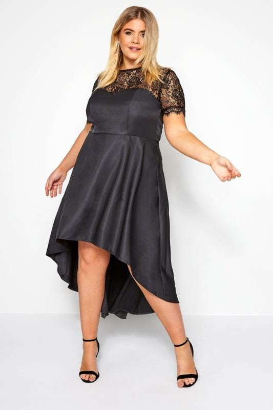 Plus Size Black Dresses CHI CHI Black Oti Dress