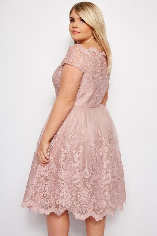 CHI CHI Blush Pink Liviah Dress