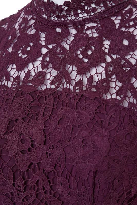CHI CHI Purple Charissa Maxi Dress
