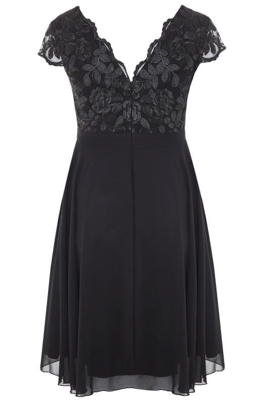 CHI CHI Black Nada Dress