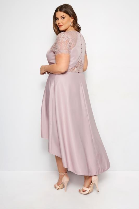 CHI CHI Dusky Pink Jasper Dress