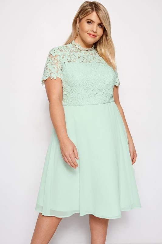 CHI CHI Mint Green Sonny Dress