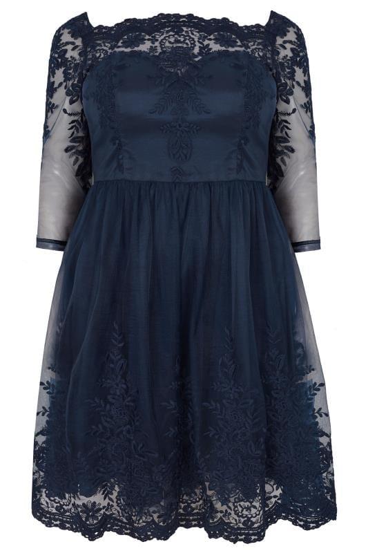 CHI CHI Navy Darin Dress