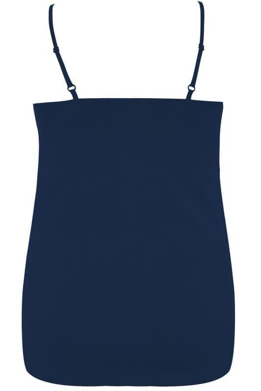 Navy Cami Vest Top