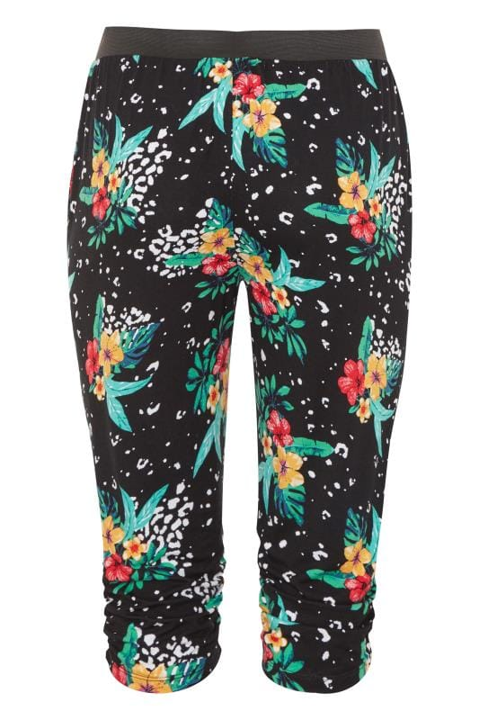 Black Tropical Animal Cropped Jersey Joggers_5836.jpg