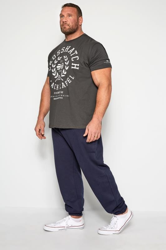 CROSSHATCH Black Printed T-Shirt