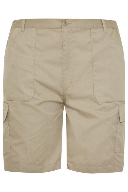 Cargo Shorts Grande Taille CARABOU Stone Combat Shorts