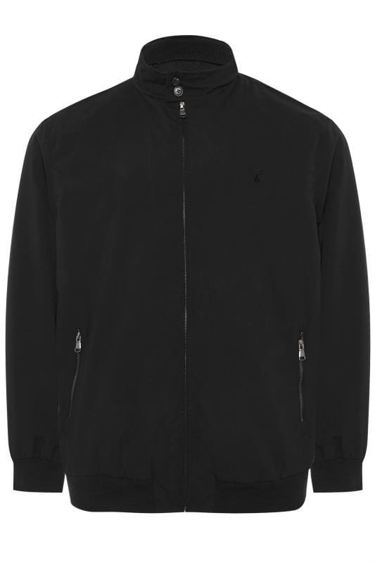 CARABOU Black Zip Through Jacket