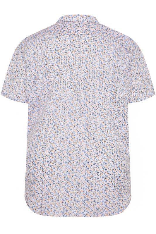 CARABOU Pink Floral Print Shirt