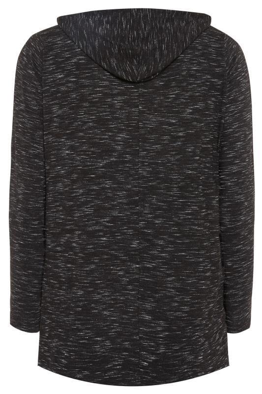 Charcoal Grey Sequin Slogan Hoodie