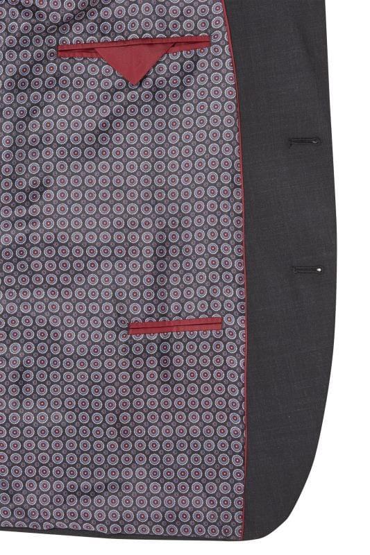 BadRhino Charcoal Regular Suit Jacket