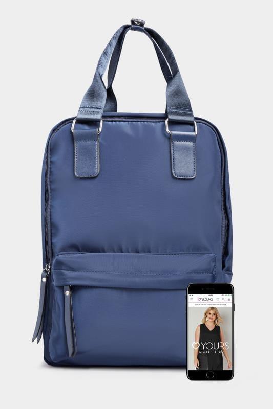 Cobalt Blue Backpack