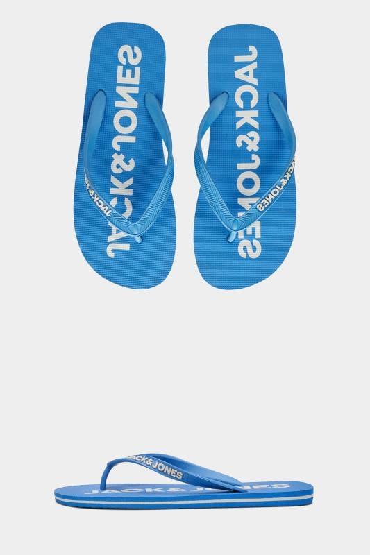 Men's Plain Blouses JACK & JONES Blue Flip Flops
