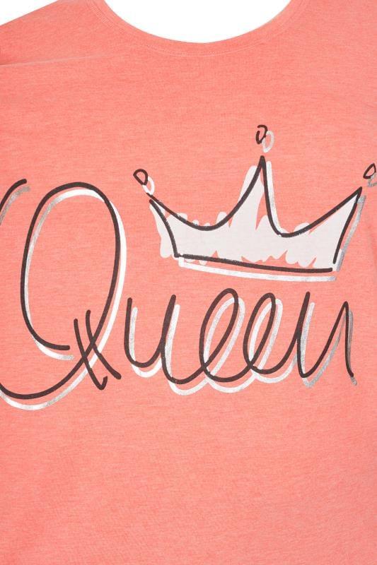 Coral 'Queen' Pyjama Set