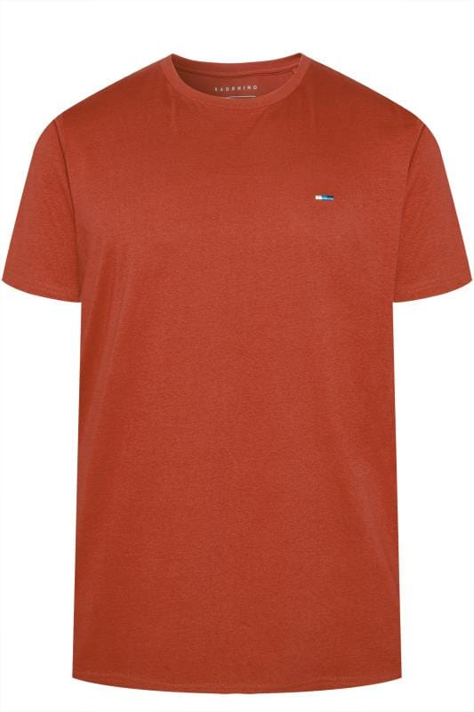 BadRhino Orange Crew Neck T-Shirt