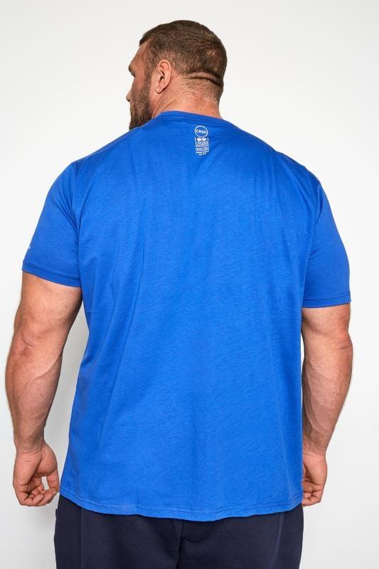Crosshatch Blue Logo Graphic Print T-Shirt