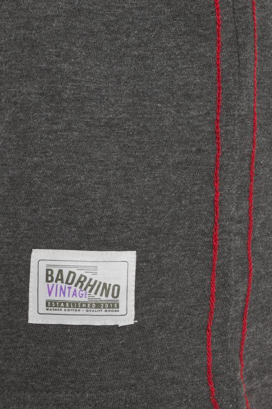 BadRhino Dark Grey Graphic Slogan T-Shirt