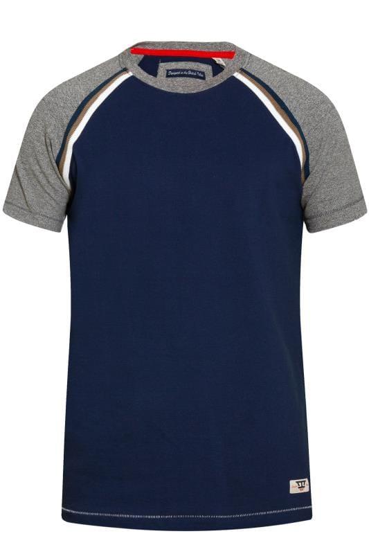 D555 Navy Contrast T-Shirt