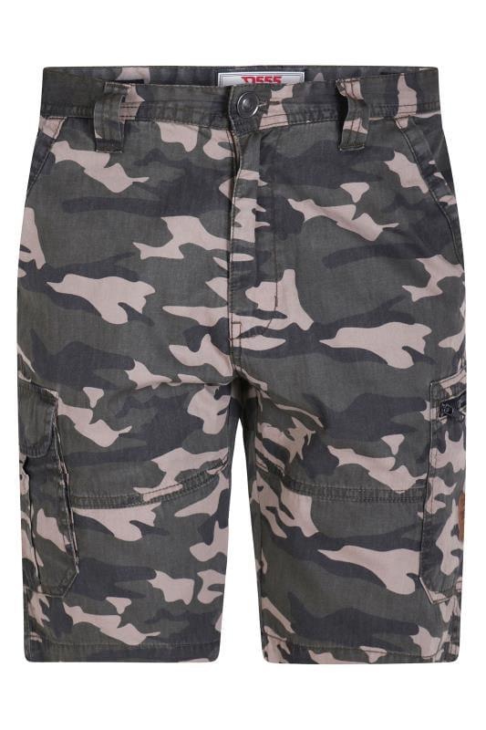 Cargo Shorts D555 Green Camo Cargo Shorts 202457