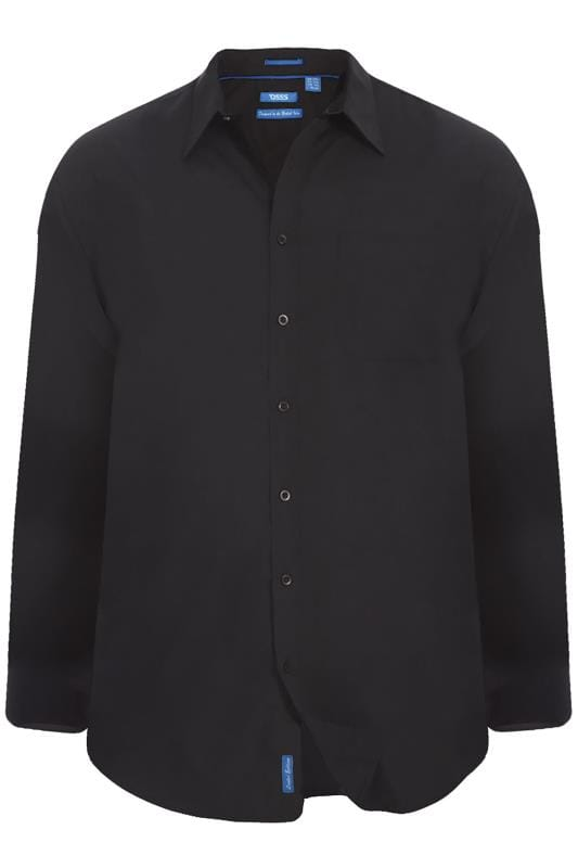 Casual Shirts D555 Black Shirt 202436